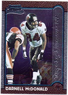 Darnell McDonald 1999 Bowman's Chrome Interstate Rookie #215 - Tampa Bay Buccaneers