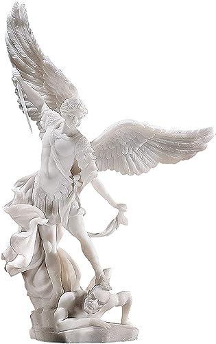 Statua in polvere di marmo arcangelo michele