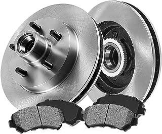 [ RWD Pickup SUV Series ] FRONT 305 mm Premium OE 5 Lug [2] Brake Disc Rotors + [4] Metallic Brake Pads CRK12876