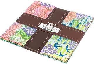 Marmalade Dreams 10-inch Precut Squares Cotton Fabric Layer Cake by Valori Wells for Robert Kaufman TEN-637-42
