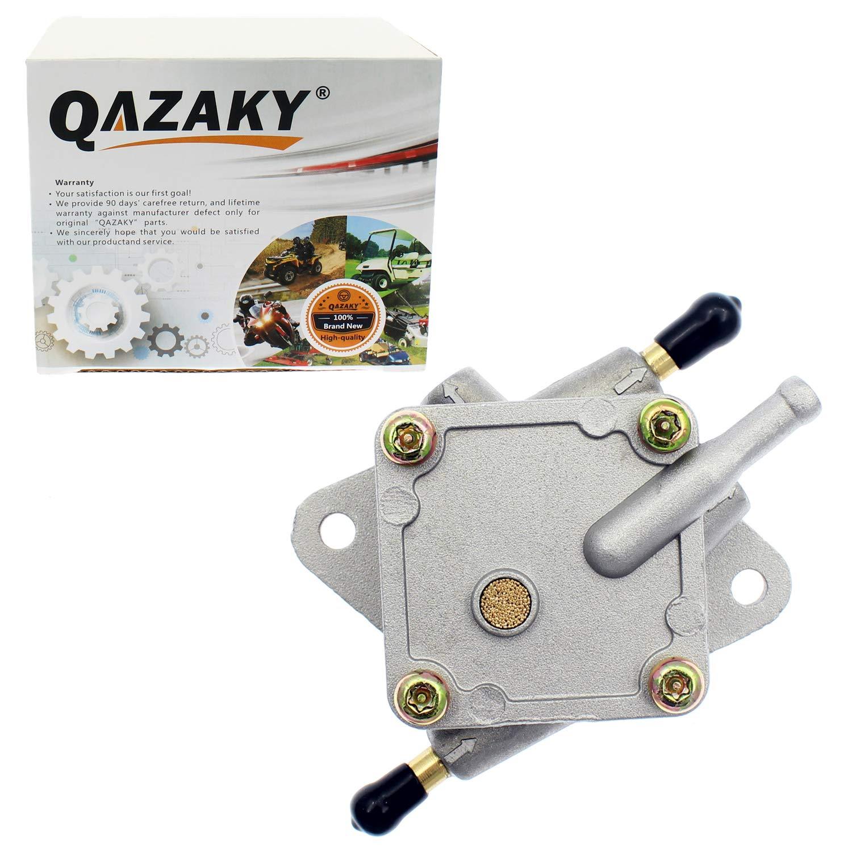 QAZAKY Replacement for Fuel Pump EZGO Gas Club Car Golf Cart 2-Cycle 1990 1/2 thru - 1991 1992 1993 25294-G1 5146 25294G1 EZ-GO