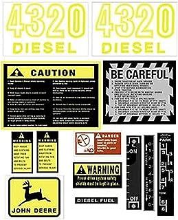 John Deere 4320 Decal Set