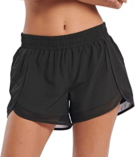 Generies Womens Comfy Athletic Running Shorts Workout Yoga Lounge Pants