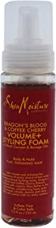 Shea Moisture Dragons Blood and Coffee Cherry Volume and Styling Foam by Shea Moisture for Unisex - 7.5 oz Foam, 222 ml