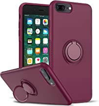 LeYi Compatible with iPhone 8 Plus Case, iPhone 7 Plus Case, iPhone 6s Plus Case, Soft Microfiber Liner Shock Absorption G...