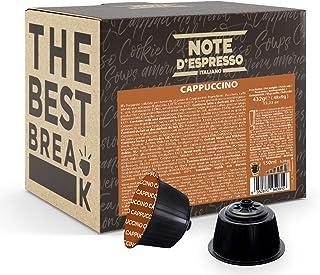 Note d'Espresso - Cappuccino - Capsules Exclusivement Compatibles avec les Machines NESCAFE* DOLCE GUSTO* - 48 caps