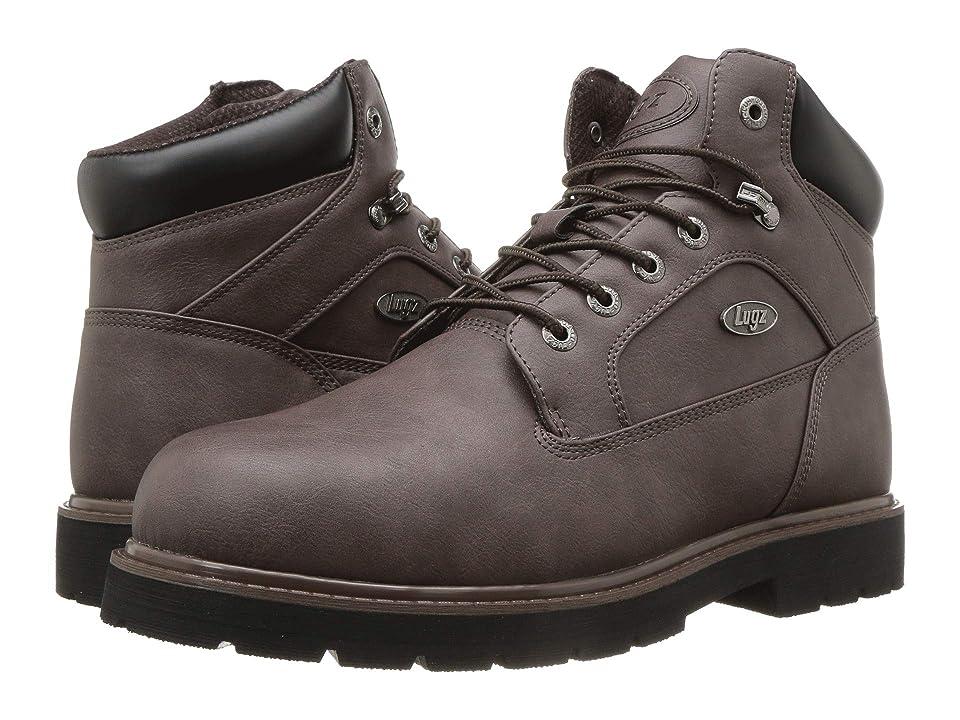 Lugz Mortar Mid Steel Toe Chukka Boot (Coffee/Black) Men