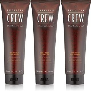 American Crew Firm Hold Styling Gel 13.1oz Pack of 3 Set