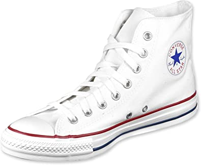 Converse Men's Chuck Taylor All Star Hi Sneaker 7 White