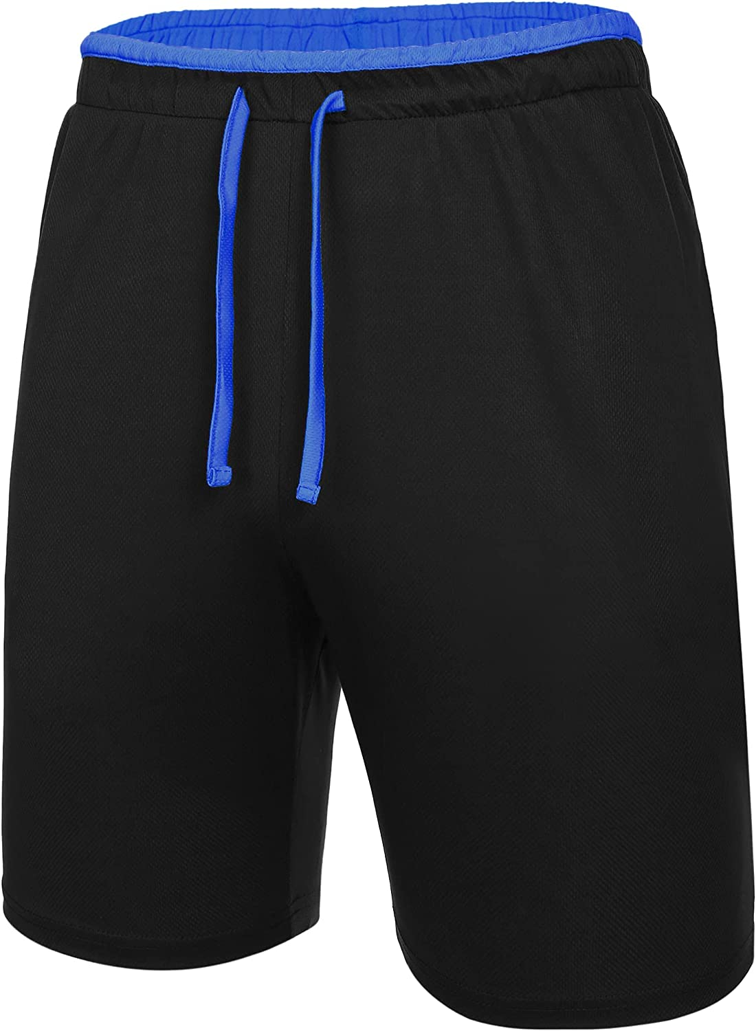 Deyeek Men's Mesh Running At the price of surprise Shorts with Pockets Manufacturer OFFicial shop Lightweight Quick