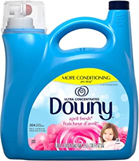 Ultra Downy April Fresh Fabric Softener, 138 FL - 204 Loads