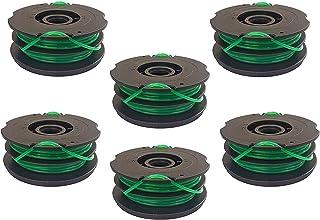 YourStoreFront 6 Pack Dual Line Trimmer Spool voor Black & Decker DF-080-BKP