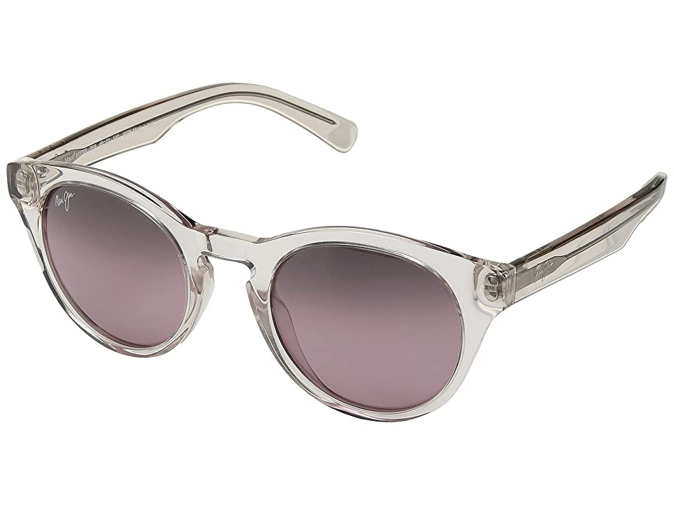 Maui Jim Dragonfly (Crystal/Hint of Pink/Maui Rose) Athletic Performance Sport Sunglasses