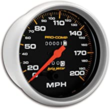 AUTO METER 5156 Pro-Comp Mechanical in-Dash Speedometer
