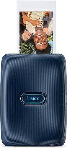 Fujifilm 16640668 Instax Mini Link Share Mini Link Printer, Dark Denim (85329), 11.99 x 3.49 x 8.99 cm