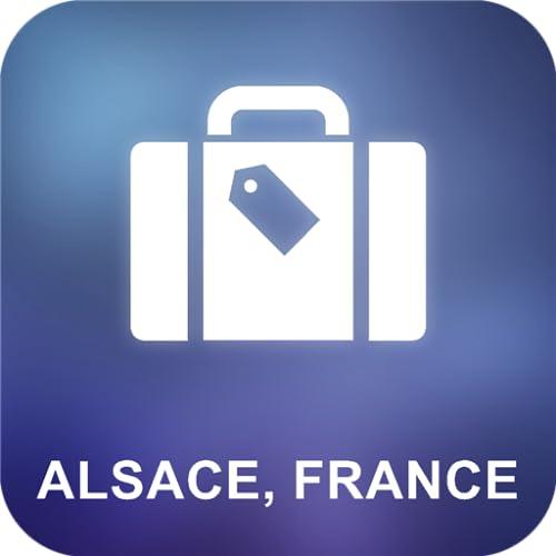 Alsacia, Francia Offline Mapa