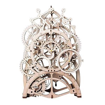 ROBOTIME 3D Assembly Puzzles Wooden Mechanical ...