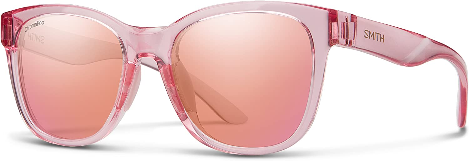 Smith Caper Chroma Pop Sunglasses, Pink Crystal