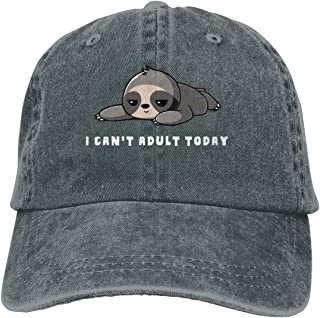 Unisex, I Cant Adult Today Fun Chapeau