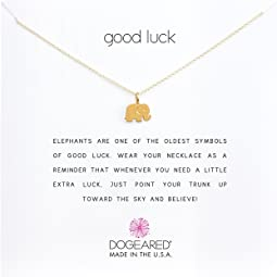 Dogeared - Good Luck Elephant Reminder Necklace