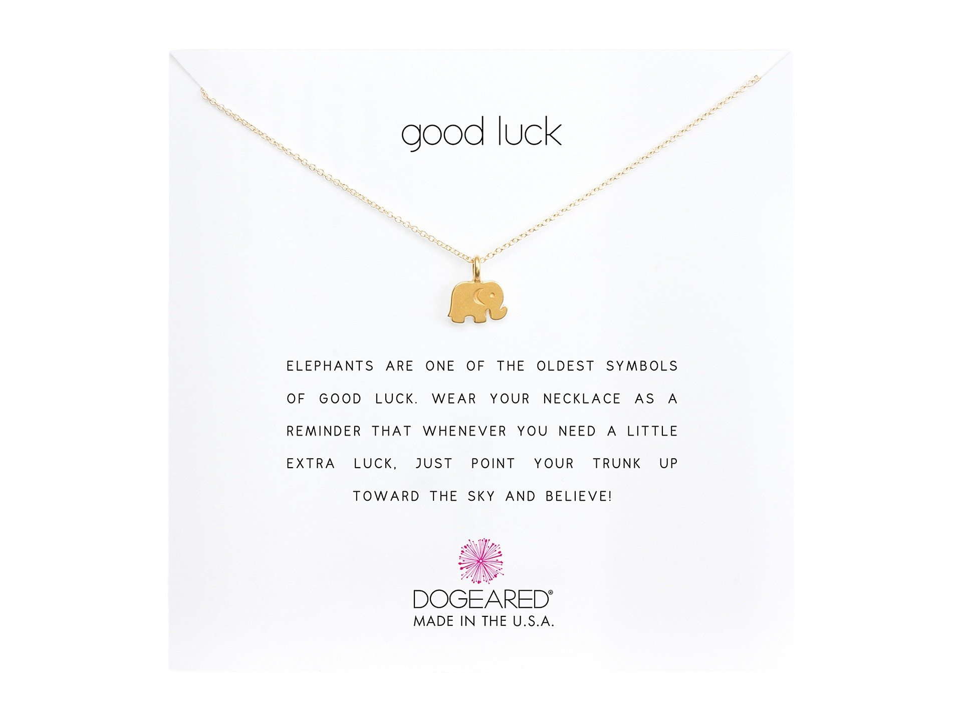 Dogeared good luck elephant reminder necklace at zappos main biocorpaavc