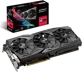 ASUS ROG Strix Radeon RX 590 8GB GDDR5 - Tarjeta gráfica (Tecnología MaxContact, Ventiladores Wing-Blade, Auto-Extreme, Super Alloy Power II, Fan Connect II, GPU Tweak II)