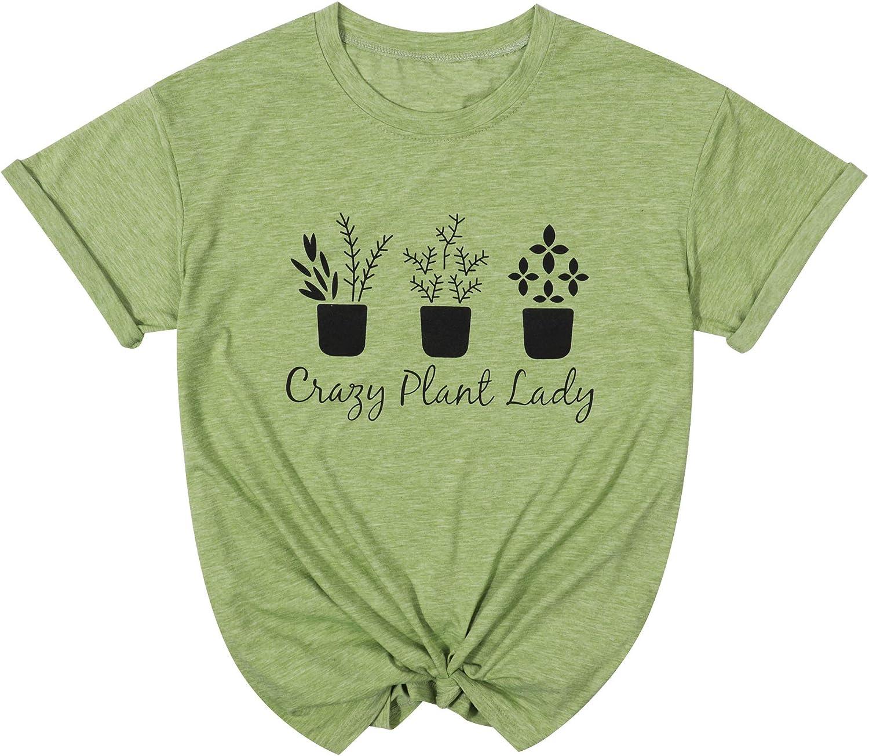 FASHGL Its Not Hoarding If Its Plants T-Shirt Women Funny Garden Gift Tee Cactus Farm Premium Shirt