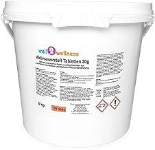 Oxigeno activo pastillas 20g-sauers SmartOffice ftabs-O² de Tabs 20g sin cloro–5-0kg