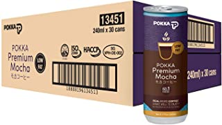 POKKA Premium Mocha Coffee, 240 ml (Pack of 30)