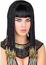 COIFFE Chapeau Reine CLEOPATRE Déguisement Femme Perruque Egyptienne NEUF