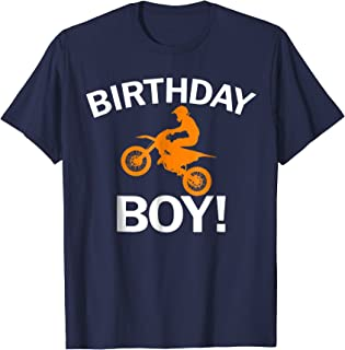 Birthday Boy MX Dirt Bike Motocross T-Shirt