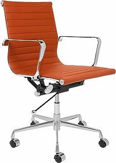 office chair orange