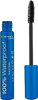 Rimmel London 100% Waterproof Mascara, Brown Black 8ml