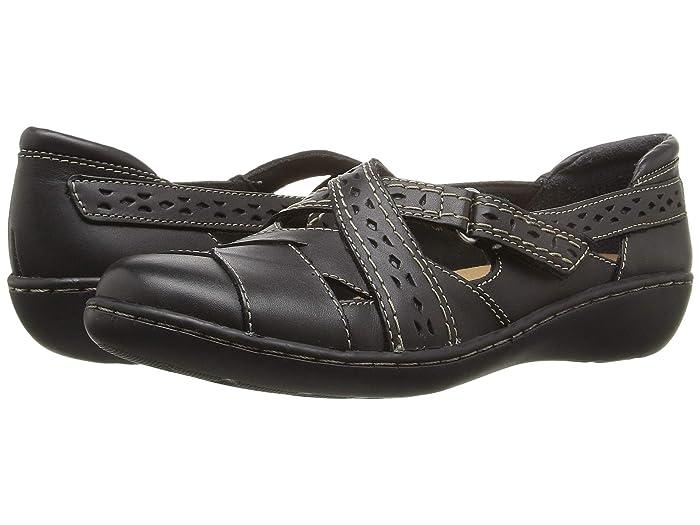Clarks  Ashland Spin Q (Black) Womens  Shoes