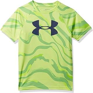 Under Armour Boy's Tech Big Logo Printed Short Sleeve Top