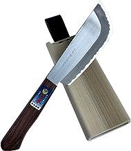 玉日本 ステン特殊鋼割込 野菜収穫庖丁 鋭太郎 150mm TY-18 磁石付木鞘付