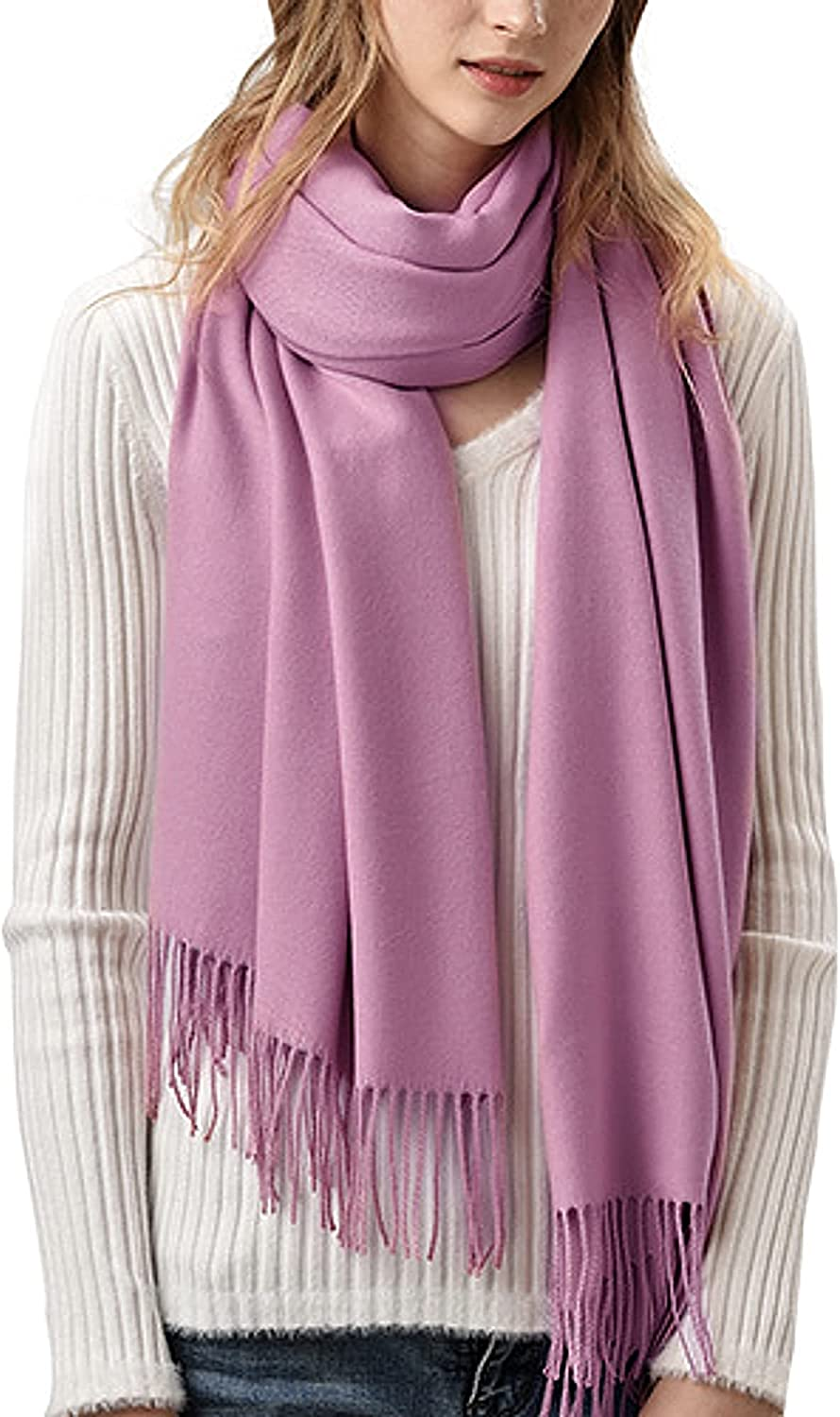 Roll Up Unisex Cashmere Soft Luxurious Cozy Long Winter Scarf Wrap Shawl Scarves Blanket