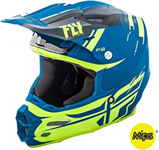 Red/Blue/White Sz XXL Fly Racing F2 Carbon Pure Helmet