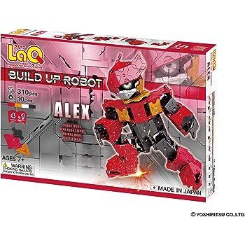 ラキュー (LaQ) ビルドアップロボ(BuildUpRobot) アレックス