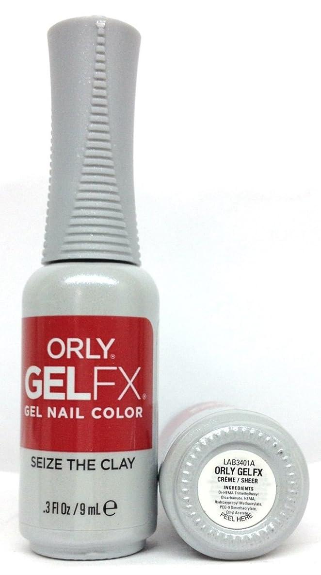 薬局足音メリーORLY GelFX - The New Neutral Collection - Seize the Clay - 9 ml / 0.3 oz