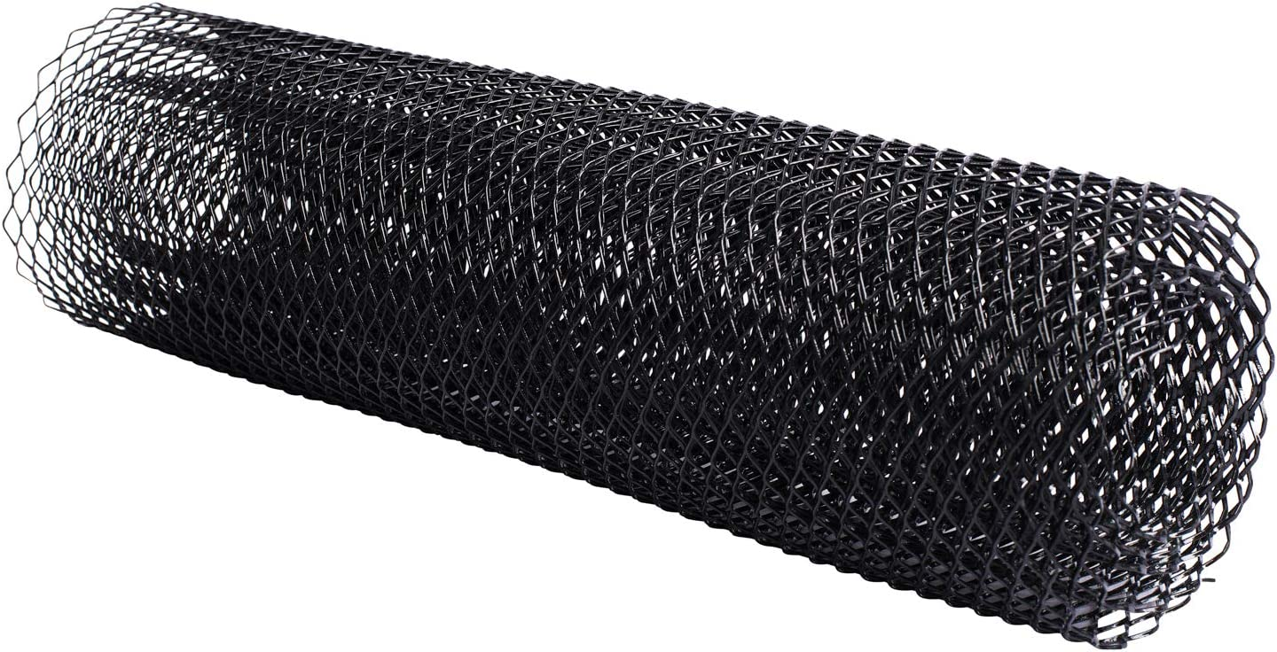 Aluminum Alloy Automotive Grille Insert Bumper Rhombic Hole 6x12mm One of the Most Multifunctional Shape Grids Black AggAuto Universal 40x13 Car Grill Mesh