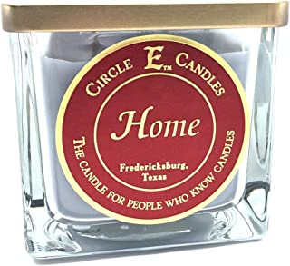 Circle E Candles Home Scented Jar Candle   22oz   110 Hour Burn Time