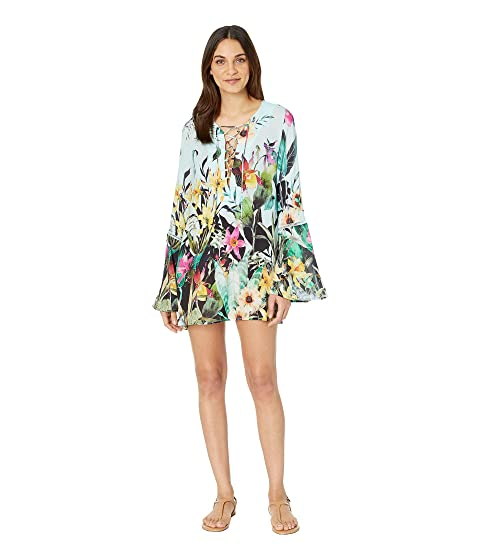 8031984f43 Nanette Lepore Bloom Botanical Tunic Cover-Up at Zappos.com