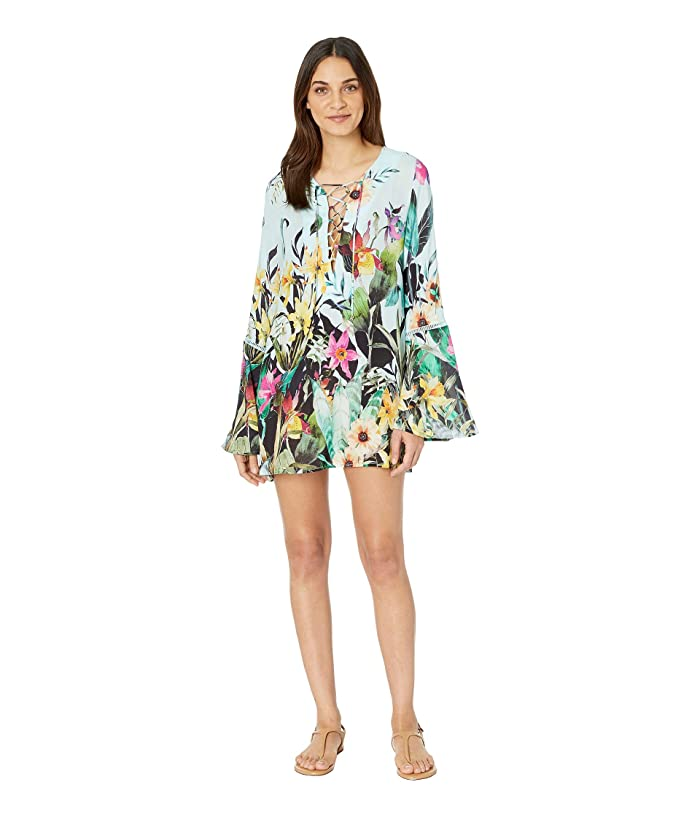 Nanette Lepore Bloom Botanical Tunic Cover-Up (Multicolored) Women