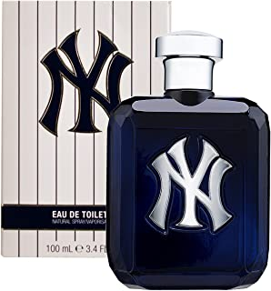 New York Yankees Fragrance Men's Eau De Toilette Spray, 3.4 Fluid Ounce