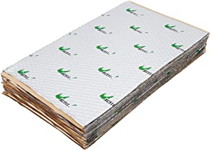 $39 » Sponsored Ad - uxcell 25pcs 80mil 26.5sqft Car Sound Deadener Heat Insulation Mat Pad Damping Self Adhesive Deadening Mate...
