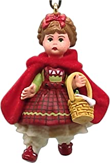 2004 Hallmark Ornament Miniature Classic Red Riding Hood Madame Alexander