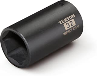 TEKTON 4932 1/2-Inch Drive by 32 mm Deep Impact Socket, 6-Point Brand TEKTON