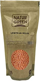 Lentejas rojas Naturgreen 500 gramos