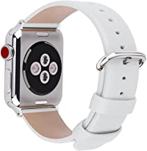 Fullmosa Compatible Apple Watch Band 42mm 44mm 40mm 38mm Calf Leather Compatible iWatch Band/Strap Compatible Apple Watch ...